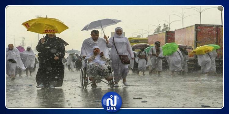 منى..عرفات ومزدلفة: أمطار غزيرة وتحذيرات للحجيج من الصعقات (فيديو)