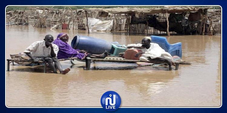 13 قتيلا بسبب السيول في السودان