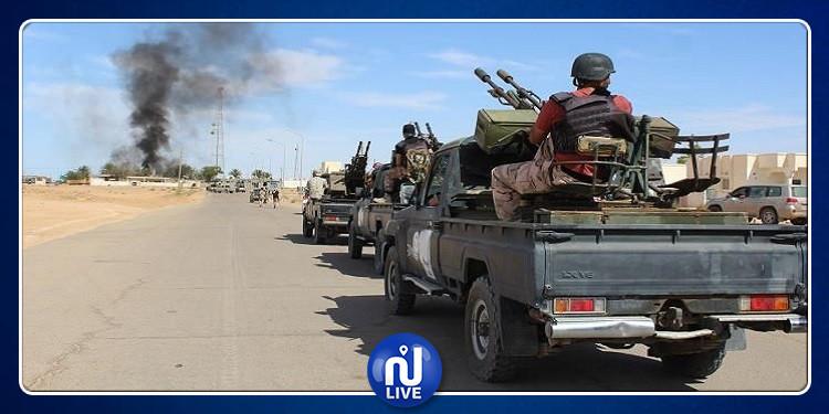 ليبيا: اشتباكات بالأسلحة الثقيلة بين قوات الوفاق والقيادة العامة