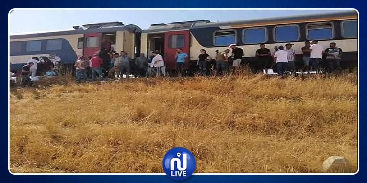 سليانة: خروج القطار الرابط بين تونس والدهماني عن السكة