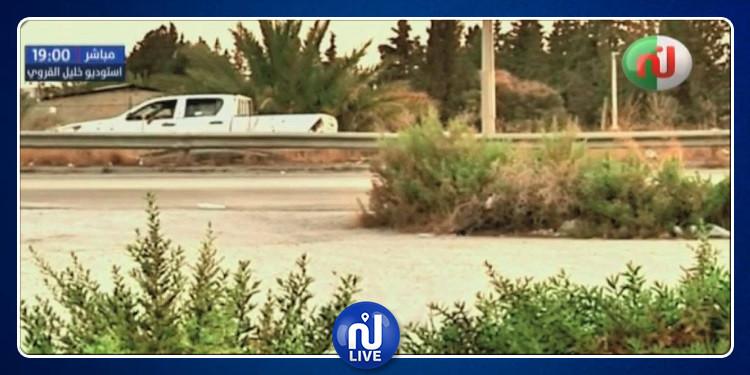 تطويق قناة نسمة من قبل 6 ''سيارات مشبوهة'' (فيديو)