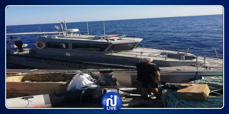 سوسة: ضبط سفينة أجنبية محملة بكمية هامة من الخراطيش (صور)