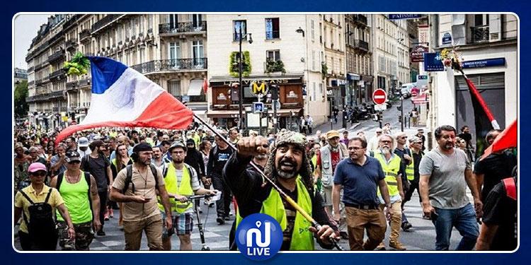 باريس:  اعتقال 30 متظاهرا خلال احتجاجات دعت إليها 'السترات الصفراء'