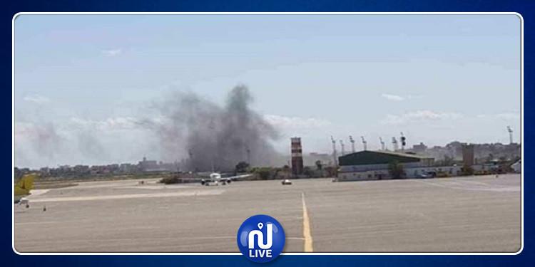 ليبيا: إغلاق مطار معيتيقة بعد استهدافه بقذائف مدفعية