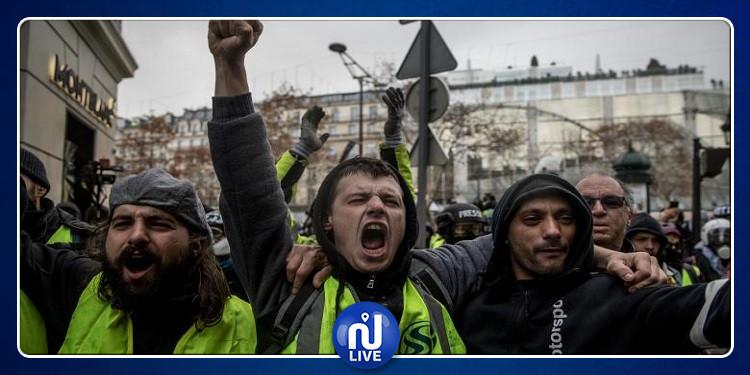 اعتقال 26 شخصا من متظاهري ''السترات الصفراء''