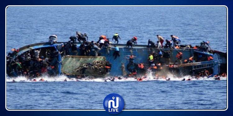 ليبيا: غرق قارب يحمل 50 مهاجرا