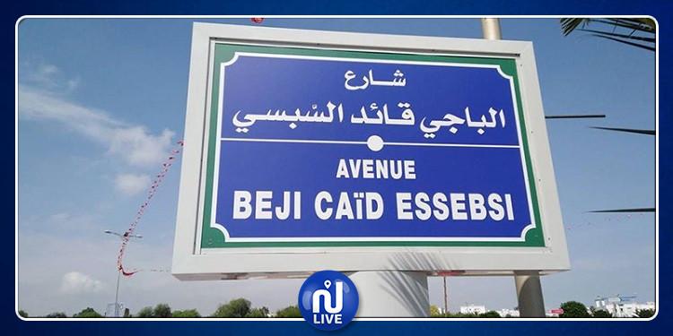 تدشين شارع الباجي قائد السبسي بالبحيرة 2 (صور)