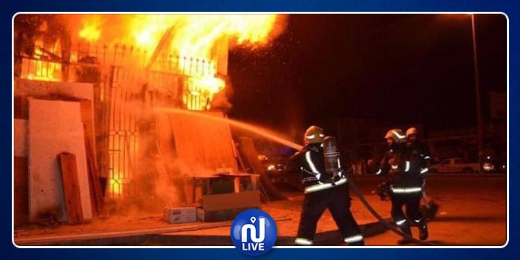 منزل تميم: وفاة طفل وإصابة شقيقيه  إثر اندلاع حريق بمنزلهم