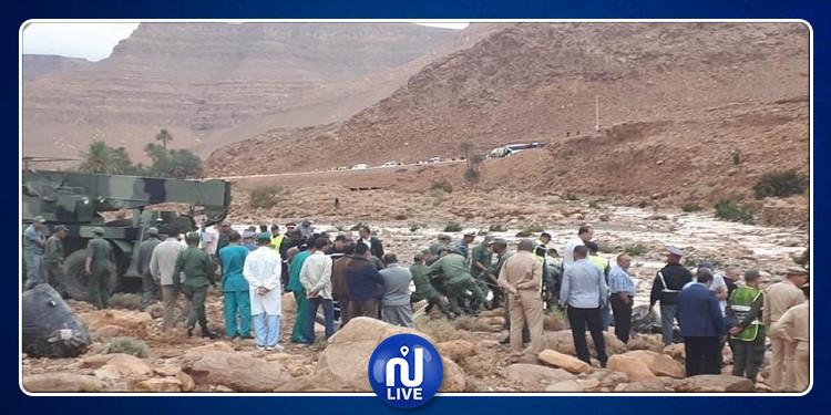 المغرب: مصرع 6 أشخاص في انقلاب حافلة جرّاء الأمطار