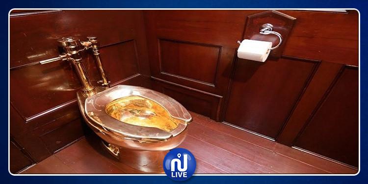 بريطانيا: سرقة مرحاض عيار 18 قيراطا