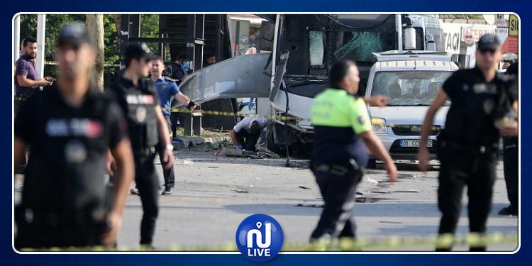 تركيا: 5 إصابات في تفجير استهدف حافلة للشرطة