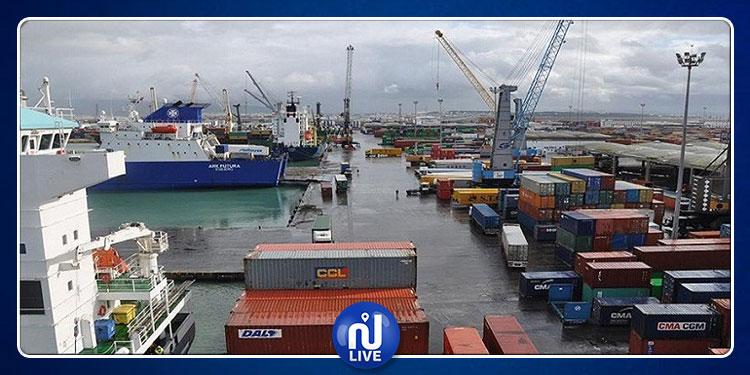 تراجع حجم صادرات تونس بنسبة 4 %