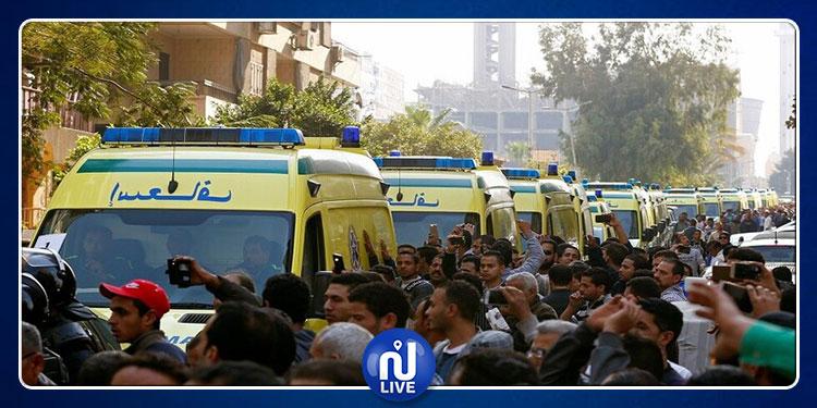 مصر: قتلى وجرحى إثر سقوط حافلة من أعلى محور صفط اللبن بالجيزة