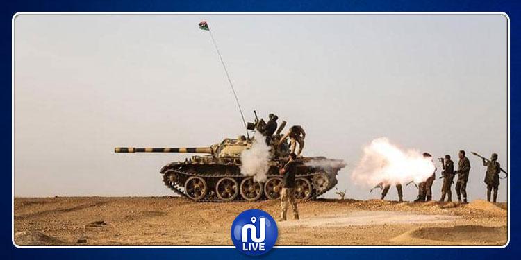 ليبيا: قوات حفتر تدمر حشودا عسكرية تابعة لحكومة طرابلس