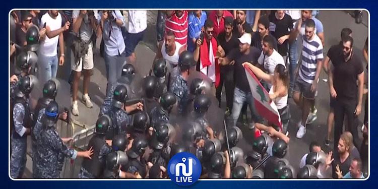 لبنان: تجدد الاحتجاجات وسط انتشار أمني مكثف