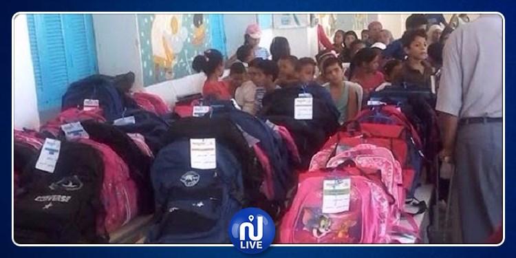 سليانة: توزيع مساعدات إجتماعية لفائدة 3800 تلميذ بهذه الجهات