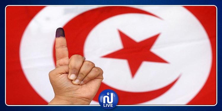 نسبة إقبال الناخبين على التصويت حسب الدوائر