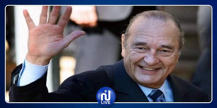 خميس الجهيناوي يمثل تونس في مراسم تأبين الرئيس الفرنسي الأسبق جاك شيراك