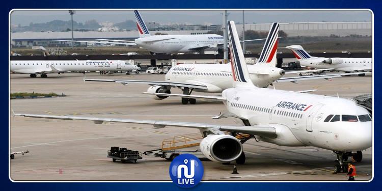 فرنسا: تأجيل جميع الرحلات الجوية