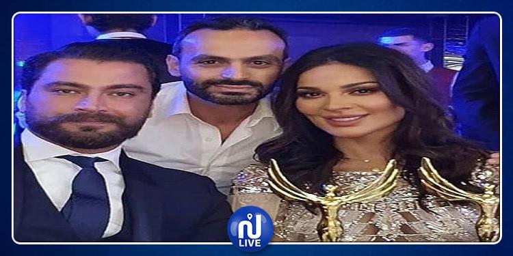 مهرجان الفضائيات العربية: معتصم النهار ونادين نسيب نجيم أفضل ممثلين (فيديو)