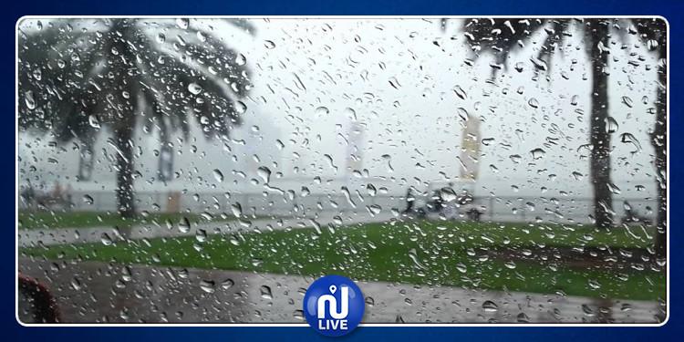 الليلة وليلة الغد .. أمطار غزيرة تصل إلى 100 مم  بهذه الولايات...