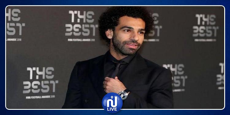 محمد صلاح يحصل على جائزة ''رجل العام''