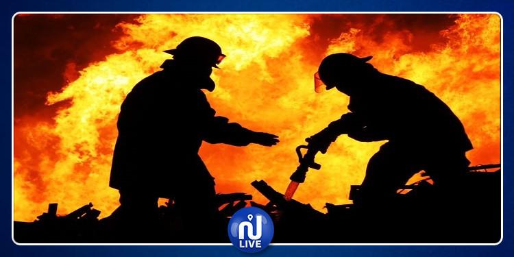 صفاقس: اندلاع حريق هائل بأحد المصانع