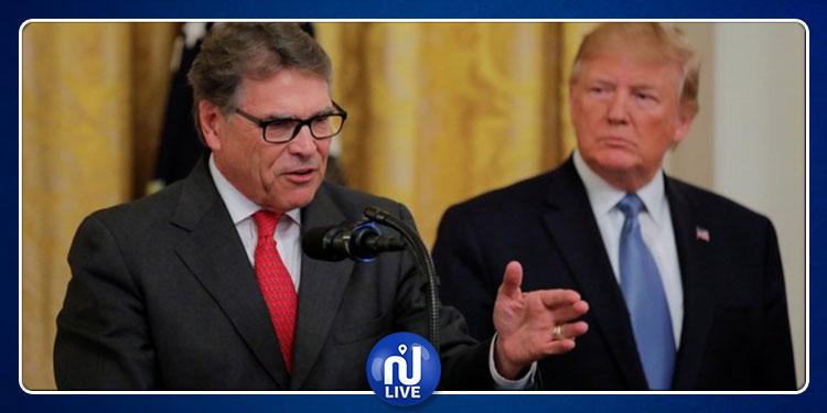 استقالة وزير الطاقة الأمريكي وترامب يعلّق