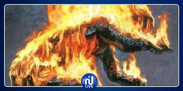 السبيخة: وفاة شاب متأثرا بحروقه البليغة بعد اضرام النار في جسده