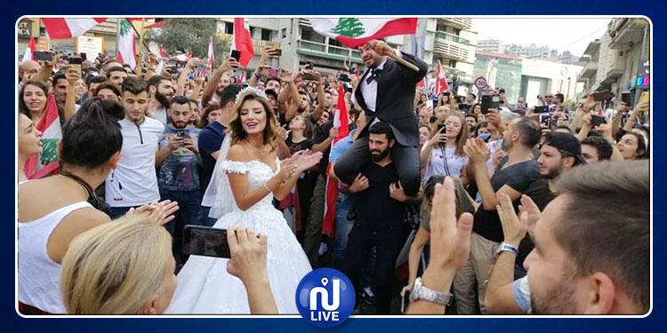 مواقف كوميدية ترافق المظاهرات اللبنانية (صور)