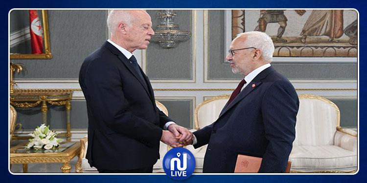 اليوم: راشد الغنوشي يقدّم لقيس سعيد مرشح رئاسة الحكومة