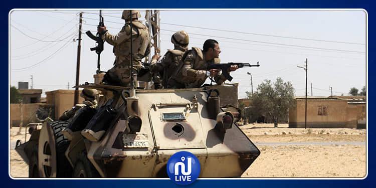 الجيش المصري يعلن مقتل عشرات الإرهابيين في سيناء