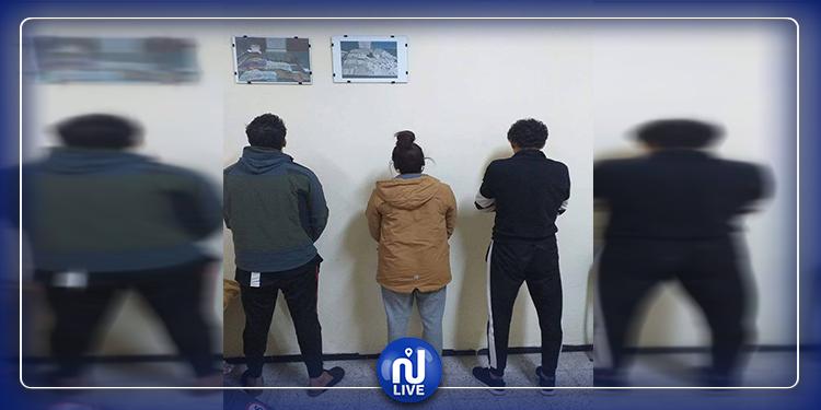 جربة: ضبط 3 أشخاص من أجل الاتجار وتعاطي المخدرات