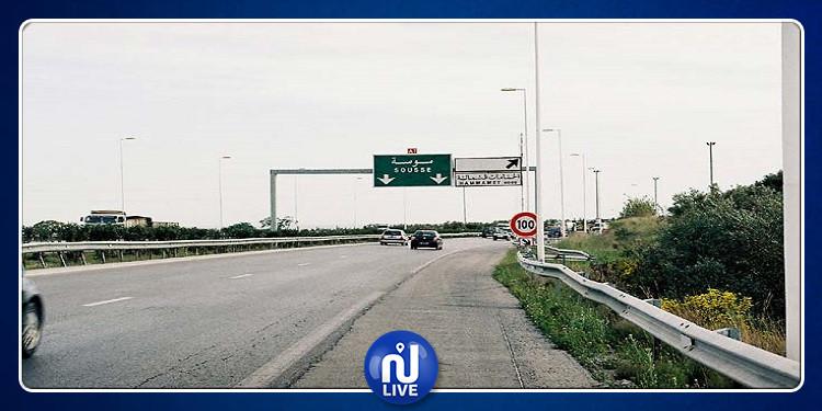بوعرقوب: مواطن يغلق الطريق الوطنية 1 في الاتجاهين