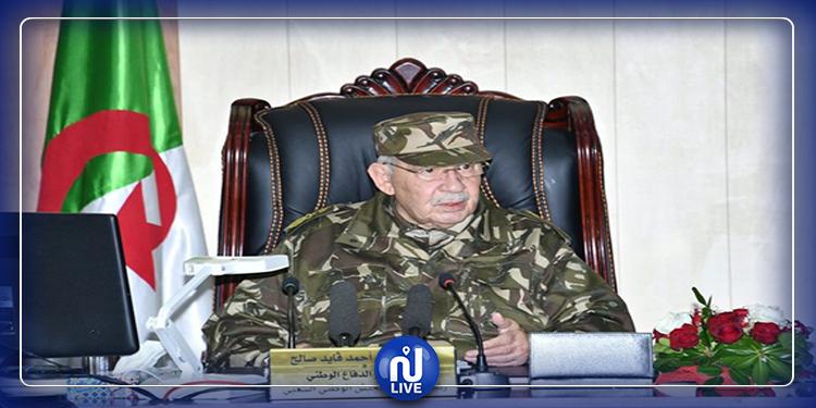 رئيس أركان الجيش الجزائري: ''لا نسمح لأيّ طرف خارجي التدخل في شؤوننا''