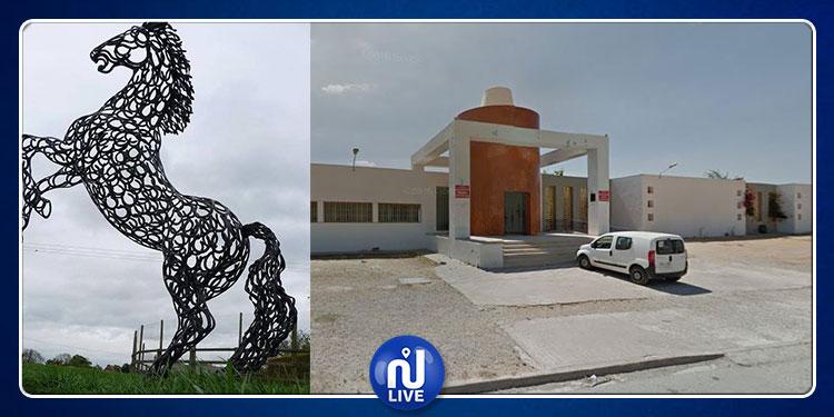 نابل: تفاصيل تهشيم تماثيل بالمركز القطاعي للتكوين في فنون اللهب (فيديو)