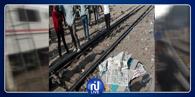 مصر: مصرع إمرأة دهسا تحت عجلات القطار