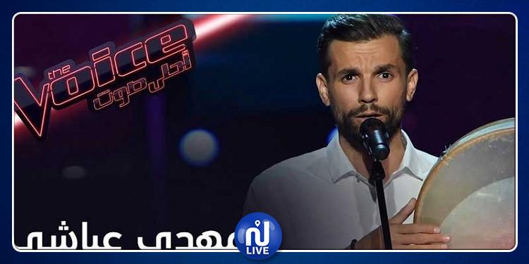 تونسي ينتقل الى مرحلة العروض المباشرة من برنامج ''ذو فويس'' (فيديو)