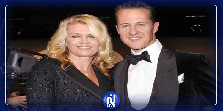 De quoi parle le message publié par la femme de Schumacher ?