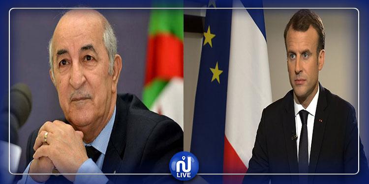 ماكرون يهنئ تبون بانتخابه رئيسا للجزائر