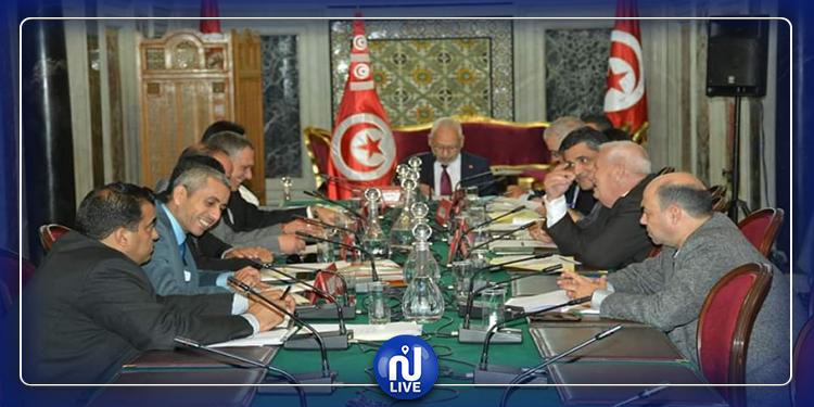 قرارات مكتب البرلمان بخصوص اعتصام الحزب الدستوري الحرّ