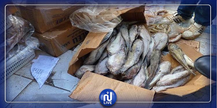 بنزرت: حجز 600 كلغ من الأسماك غير صالحة للاستهلاك