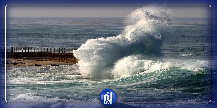 المعهد الوطني للرصد الجوي يحذّر البحارة