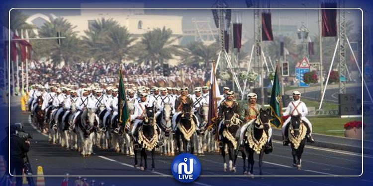قطر تحتفي بعيدها الوطني بعرض عسكري