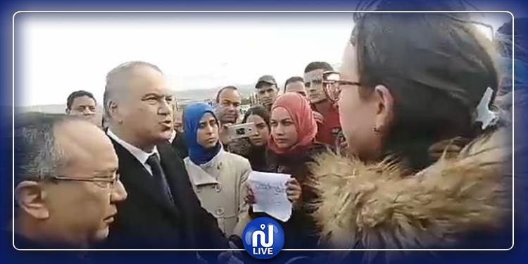 سليانة: أساتذة التعليم الابتدائي يحتجّون أمام وزير التربية