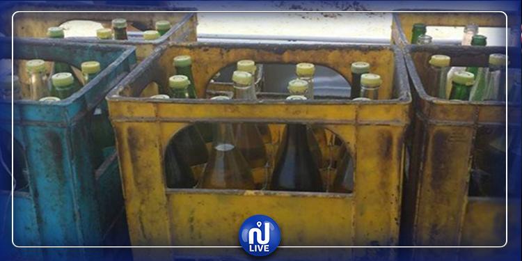 سليانة: حجز أكثر من 2500 لتر من الزيت المدعّم في محلّ عشوائي