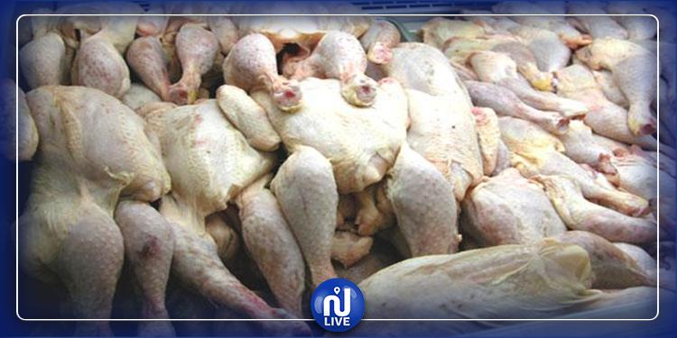 نابل: حجز 70 كلغ من اللحوم البيضاء في مخزن عشوائي