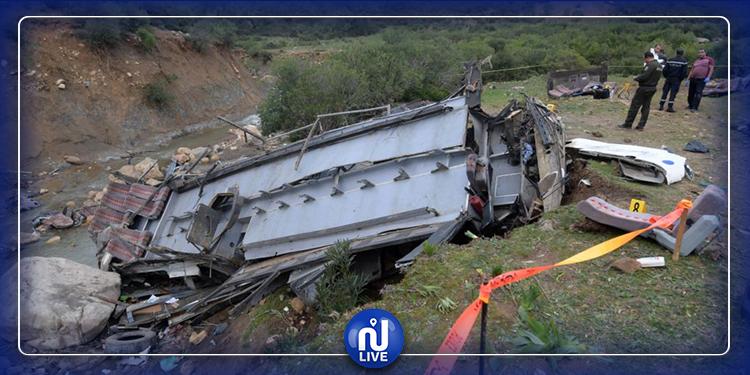 انقلاب حافلة سياحية: ولاية سليانة تقدم تعازيها لعائلات الضحايا