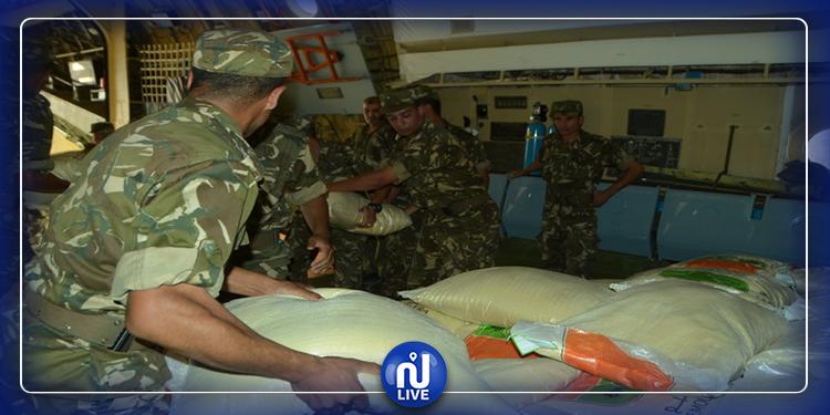 الجزائر ترسل 100 طن مساعدات للشقيقة ليبيا