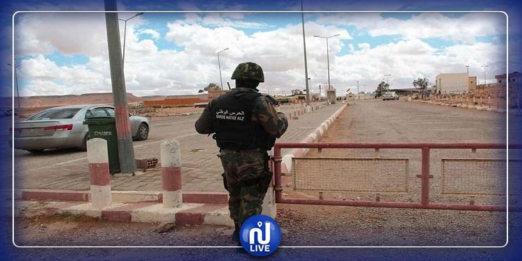 بن قردان: ضبط 19 شخصا بصدد اجتياز الحدود البرية خلسة